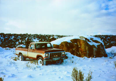 '79 Ford near Deadman Creek